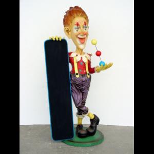 1888 Clown with Menubord