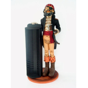1930 Butler Pirate with CD Kast - Piraat
