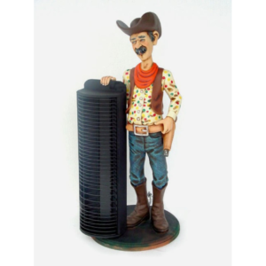 1931 Butler Cowboy with CD Rack - Cowboy