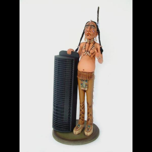1932 Butler Indian with CD Rack - Indiaan