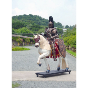 1987 Mysterious Knight on Horse - Ridder