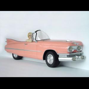2093-A Wall Decor Cadillac - Marilyn Monroe