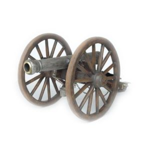 2098 Cannon with Wagon Wheels - Kanon