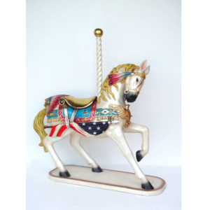 2114 Horse Carousel All American - Paard
