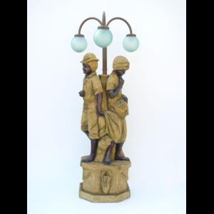 2120-SS Lamp Garden Stone Finish - Tuinlamp
