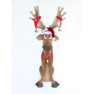 2144 Reindeer Funny 5 ft. - Rendier
