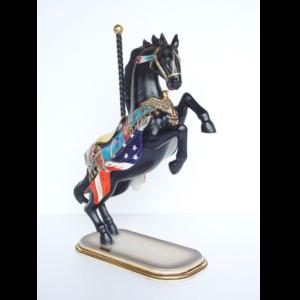 2148 Horse Carousel Prancing - Paard