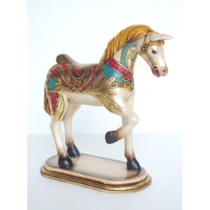 2153 Horse with Base - Paard