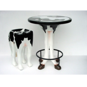2166-C Table Cow - Tafel Koe