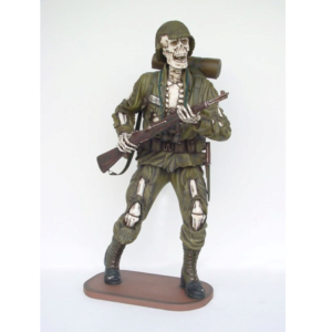 2264 Soldier Skeleton 6ft.- Soldaat