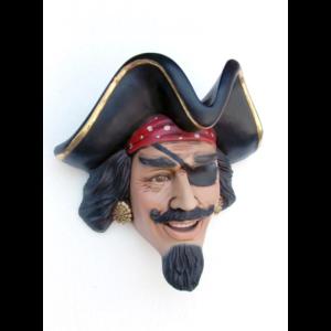 2342 Pirate Head Wall Decor - Piraat