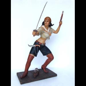 2356 Pirate Girl 5.5 ft. - Piraat