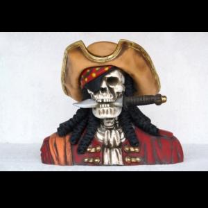 2434 Pirate Skull Head Royal - Piraat