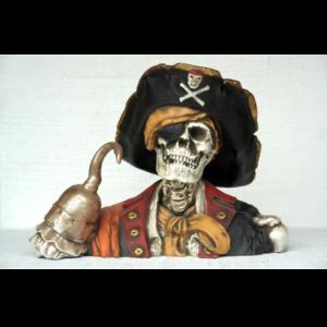 2435 Pirate Skull Head Captain Hook - Piraat