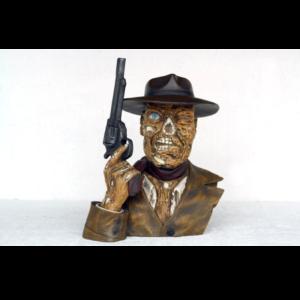 2437 Body Skull Head Cowboy Mad Smoker