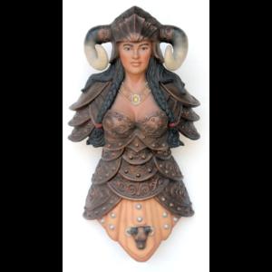 2449 Viking Female Head - Viking Buste