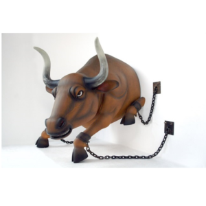 2464 Bull in Chains - Stier