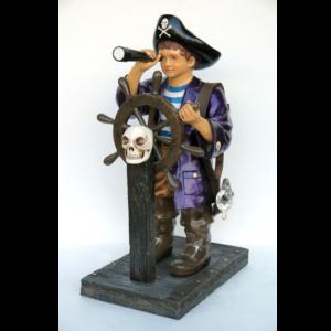 2469 Pirate Boy 4ft. - Piraat