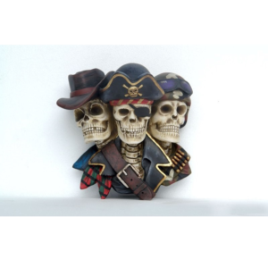 2538 Pirate Skeleton Head - Piraat