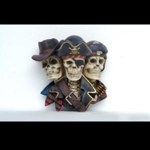 2538 Pirate Skeleton Head - Piraat