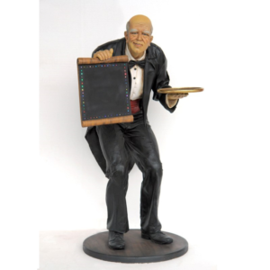2565 Retired Waiter Led Lighted - Ober