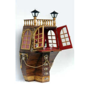 2579 Galleon Bar Cabinet - Piratenbar