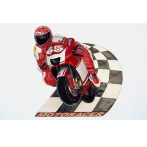 2581 Motorracer Speedway Wall Decor - Motor