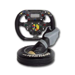 2599  RNT Steering Wheel And Tire - Formule 1