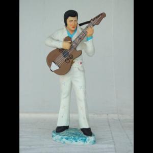 0265 Elvis Presley with Guitar 3.ft.