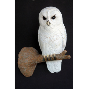 2689 Owl on Tree Branch - Uil