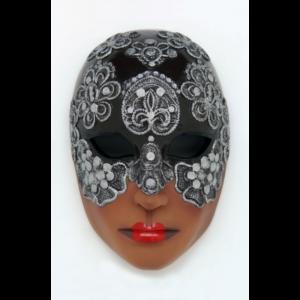 2690-B Mask Volto Mac Craquele Black - Masker