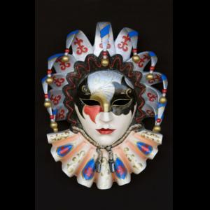 2692 Mask Jolly Brocade - Masker