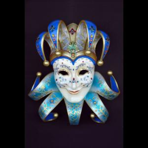 2693-B Mask Jolly Ridente (Aqua) - Masker