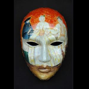 2702 Mask Volto Artistico II 2.5 ft - Masker