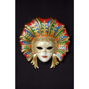 2720 Mask Colorata Veneziana - Masker