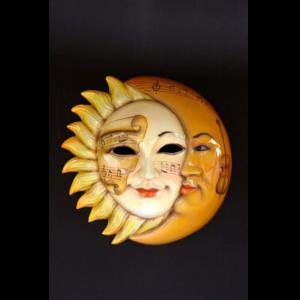 2729-A Mask Sun & Moon - Masker
