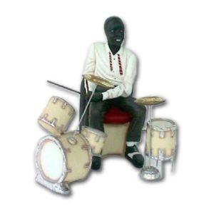 0280 Jazz Drummer 2.5 ft.