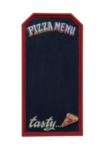 2874 Pizza Adv Pizza Menubord Tasty Sign