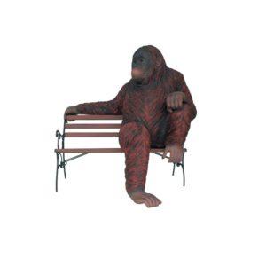 2918 Orangutang Sitting - Orang Oetan