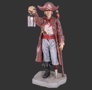 H-30718 Pirate with Lantern 6ft - Piraat