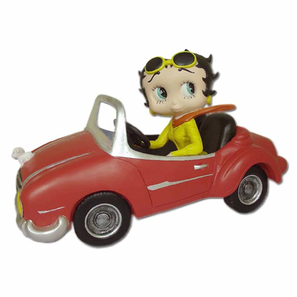 Betty Boop In Sports Car 340153