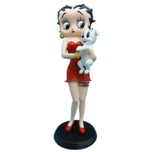 Betty Boop Holding Pudgy 340178