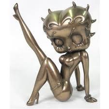 Betty Boop Leg Up (Bronze) 399030