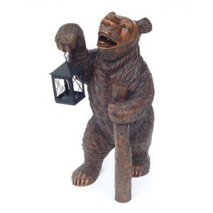 5002 Bear with Lantern - Beer
