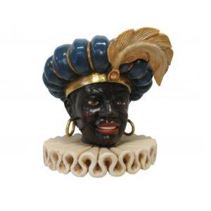 ALD5107 Zwarte Piet Head -Sinterklaas