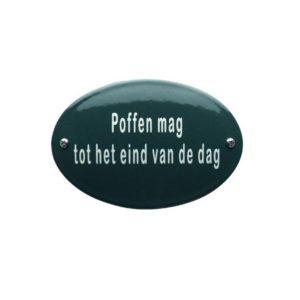 Horeca Emaille #KNH80 Poffen 8x12cm