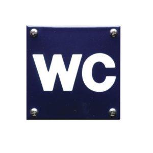 Toilet Bordje #W16 10x10cm