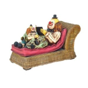 0607 Clown with Rattan Sofa