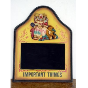 0658 Menu Clown with Important Things - Menu