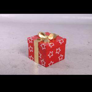 H-150242 Christmas Santa Presents Red/Gold - Kado